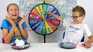 Mystery Wheel of Slime Switch-Up Challenge!!!