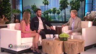 Chris Evans and Elizabeth Olsen
