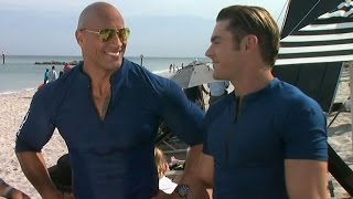 EXCLUSIVE: Zac Efron and Dwayne Johnson Gush Over Each Other