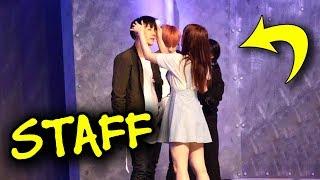 ❤️ BTS & BigHit staff sweet moments