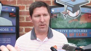 TigerNet.com - Brad Brownell at 2016 Prowl and Growl at Fluor Field