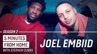 Joel Embiid Knows How to Make Stephen Curry Go 0-for-10 from Three   5 Minutes from Home
