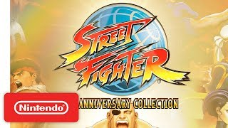 Street Fighter 30th Anniversary Collection - Nintendo Switch Trailer