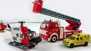 Das Rettungsteam - Der Wolkenkratzer brennt! - Tolle Lernvideos für Kinder
