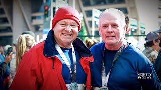 Heart Attack Survivor Runs Marathon Again With Surgeon Who Saved His Life| NBC Nightly News
