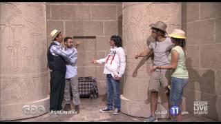 """انتظرونا...السبت في تمام الـ 11 مساءً في SNL بالعربي مع الفنان """" عمرو سعد """"على سي بي سي"""