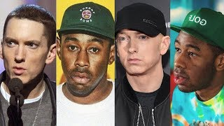 """Tyler The Creator Disses Eminem Walk on Water """"This Song is Horrible"""""""
