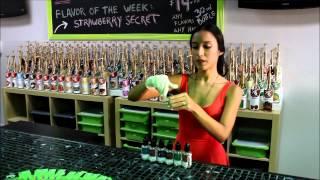 Custom Blends E-Juice Bar by Private Label Liquid
