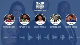 UNDISPUTED Audio Podcast (11.07.17) with Skip Bayless, Shannon Sharpe, Joy Taylor | UNDISPUTED