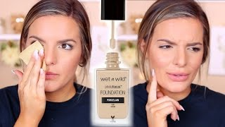 WET N WILD Photo Focus Foundation Review & Wear Test | Casey Holmes