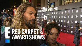 Jason Momoa & Lisa Bonet Talk Newlywed Life Logistics | E! Live from the Red Carpet