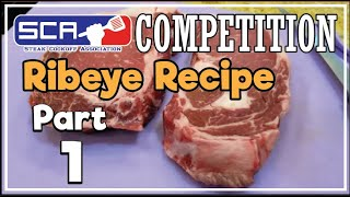Ribeye Steaks SCA Contest Texas How-To Perfectly Cook by Grand Champion Harry Soo SlapYoDaddyBBQ.com