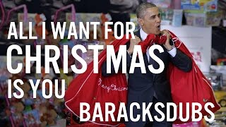 Barack Obama Singing All I Want for Christmas Is You by Mariah Carey
