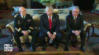 President Trump names H.R. McMaster as national security adviser