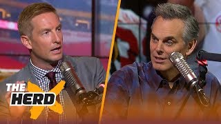 Joel Klatt and Colin Cowherd on Alabama