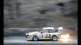 Audi Sport Quattro & Audi Quattro S1 Highlights 1985-86 Part 2