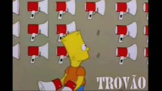 """Bart Simpson cantando """"ISOLADO"""""""