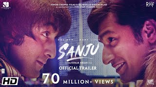 Sanju   Official Trailer   Ranbir Kapoor   Rajkumar Hirani   Releasing on 29th June