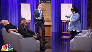 Pictionary with Jeff Daniels, Whoopi Goldberg and Nelly