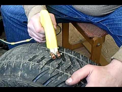 Машинка для нарезки протектора шин сделать