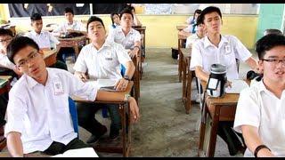 当学生在课室上课的时候