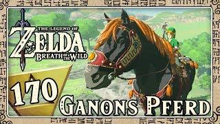 THE LEGEND OF ZELDA BREATH OF THE WILD Part 170: Zielschussübungen mit Ganons Pferd