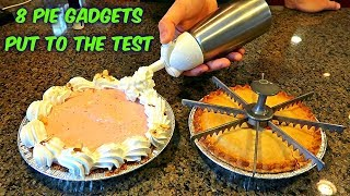 8 Pie Gadgets put to the Test