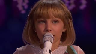 【中英字幕】2016美国达人秀冠军 12岁天才小姑娘 Grace Vanderwaal 决赛原创歌曲:Clay