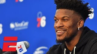76ers wanting to win makes me smile - Jimmy Butler at introductory news conference   NBA 2018-19