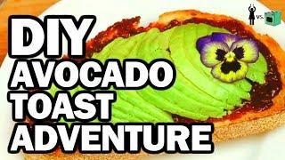 Avocado Toast Breakfast - Corinne Vs Cooking #8