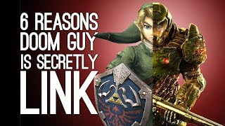 THEORY: Doom Guy is Link? 6 Reasons the Doom Marine and Link From Zelda are Totally the Same Guy