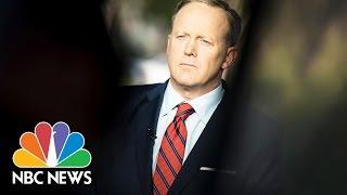 100 Days Of Sean Spicer Press Briefings | NBC News