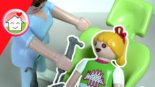 Playmobil Film deutsch - Lena hat Karies - Playmobil Zahnarzt - Family Stories Familie Hauser