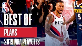 The BEST Plays From the 2019 NBA Playoffs!