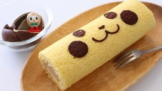 Pikachu Surprise Egg Chocolate Swiss Roll Cake Recipe