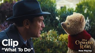 """Christopher Robin """"What To Do"""" Clip"""