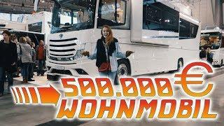 500.000 € WOHNMOBIL TOUR! #vlog Nr. 340 | MANDA