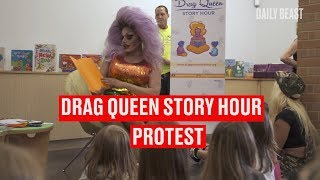 Drag Queen Story Hour Protest