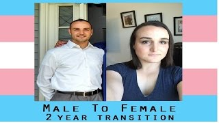 one year as myself my mtf transition timeline videos line