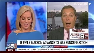 Nigel Farage on Marine Le Pen and the French Election