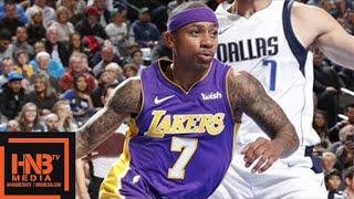 Los Angeles Lakers vs Dallas Mavericks Full Game Highlights / Feb 10 / 2017-18 NBA Season
