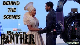 Black Panther Bloopers, B-Roll, & Behind the Scenes(BTS) - 2018 | I