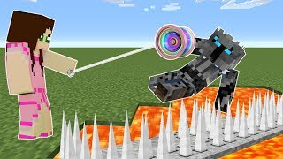 Minecraft: YOYOS!! (EPIC WEAPONS ON A STRING!!) Mod Showcase
