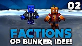 OP BUNKER IDEE! - MINECRAFT FACTIONS #02 | DieBuddiesZocken