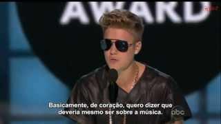 Justin Bieber wins Milestone Award at Billboard Music Awards 2013 [Legendado]