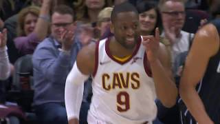 LeBron James Ridiculous No-Look Assist To Dwyane Wade | January 18, 2018