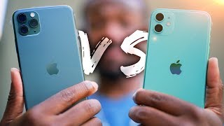 iPhone 11 vs iPhone 11 Pro Hands On!  - What
