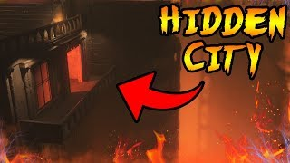 What Is The HIDDEN CITY Under SHADOWS OF EVIL! Black Ops 3 Zombies Storyline & Easter Eggs