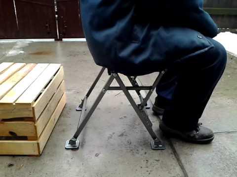рыболовные самодельные стулья