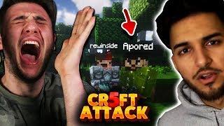 APORED kommt in Craft Attack LIVESTREAM und Urteilt 😂 Craft Attack 5 #4